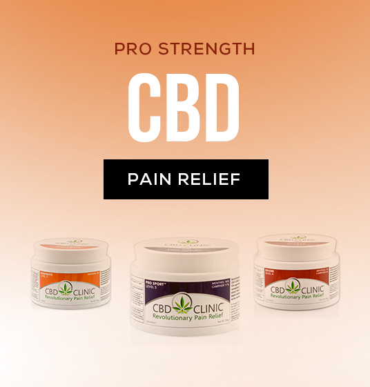 CBD Pain Relief Banner